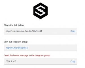 IOST Airdrop form
