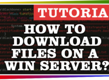 How to download files on a Windows Core Server