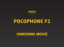 Pocophone f1 unboxing movie