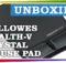 Unboxing Fellowes Health-V Crystal Mouse Pad Wrist Support Black